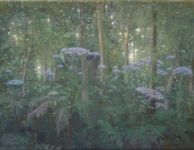 Schilderij berenklauwen Isabella Werkhoven