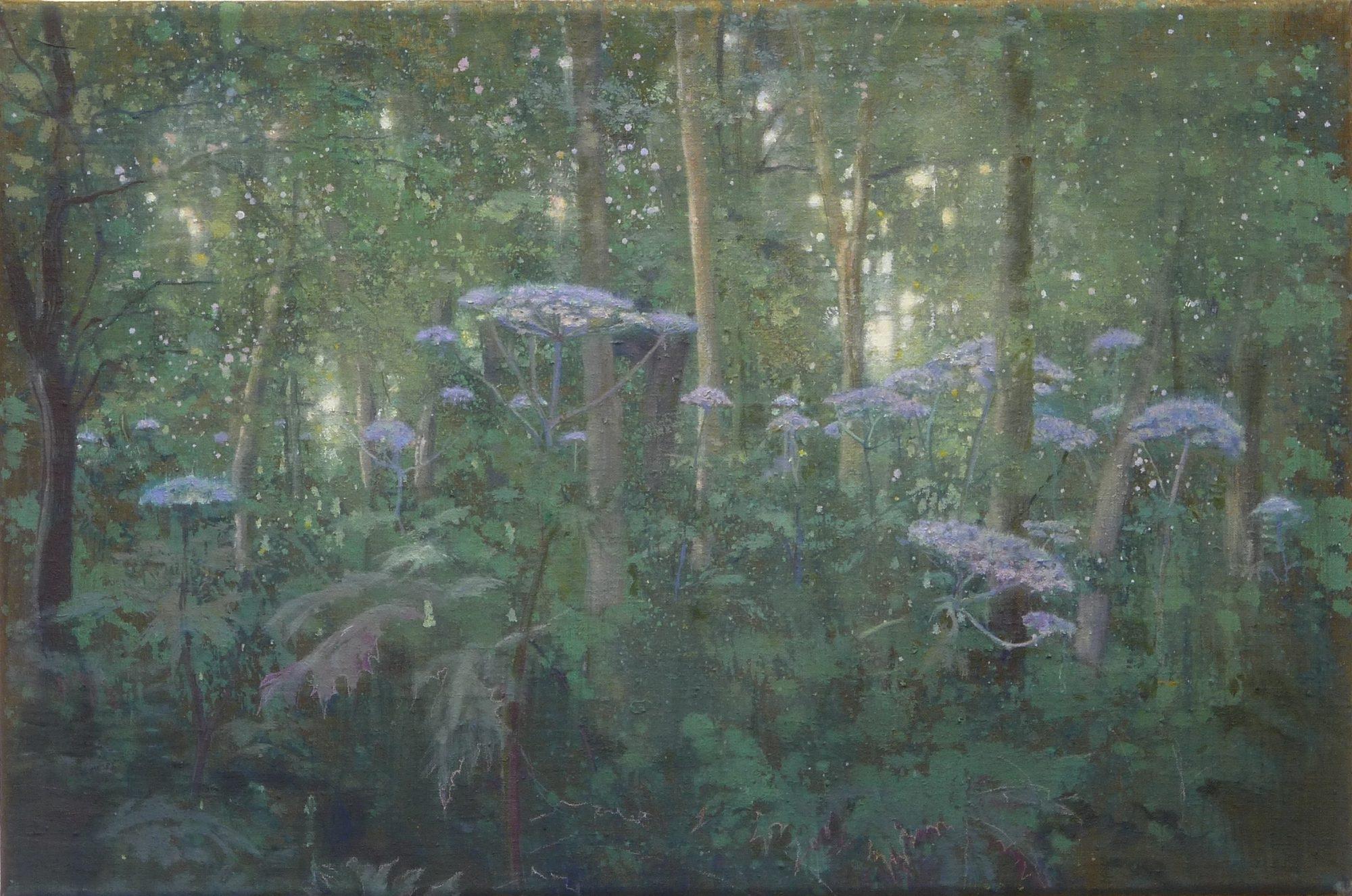 Schilderij Bereklauwen van Isabella Werkhoven