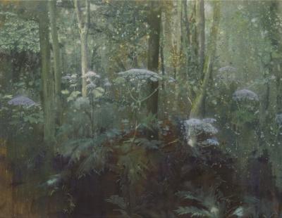 schilderij berenklauwen in bos isabella werkhoven