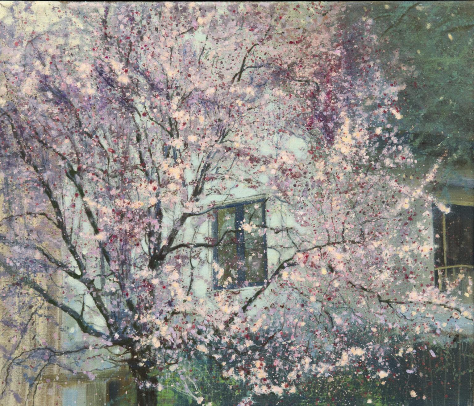 schilderij bloesemboom Isabella Werkhoven